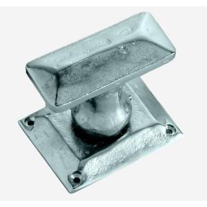 KEOPS pair of door knob (turn) + Rectangle spring rosace