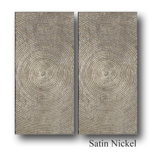 HYPNOSIS, PAIR OF LARGE PLATE  30*15*3,5cm