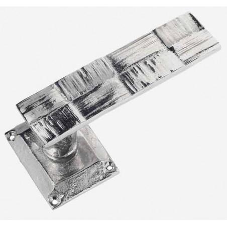 RAPHIA pair of lever door handle (turn) + spring rosace