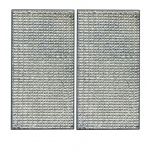 JERSEY pair of rectangle intermediate push/pull plates
