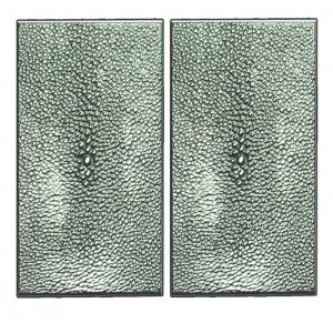 STINGRAY pair of rectangle medium push/pull plates