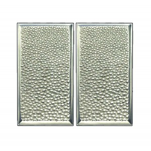 STINGRAY pair of rectangle small push/pull plates