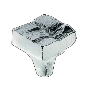 RAPHIA square small knob (push/pull)
