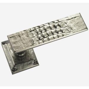 ALIGATOR DOOR HANDLE PAIR + SPRING ROSACES