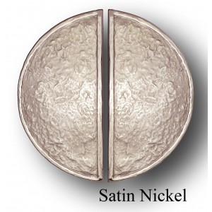 BAIKAL STYLE, PAIR OF  HALF MOON LARGE PLATE